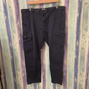 Dockers Dark Blue Cargo pants size 40x30